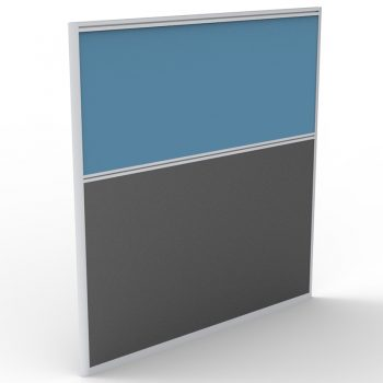 Smart Screen Divider, Blue Fabric Colour, 1250mm h