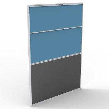 Smart Screen Divider, Blue Fabric Colour, 1650mm h