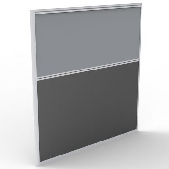 Smart Screen Divider, Grey Fabric Colour, 1250mm h