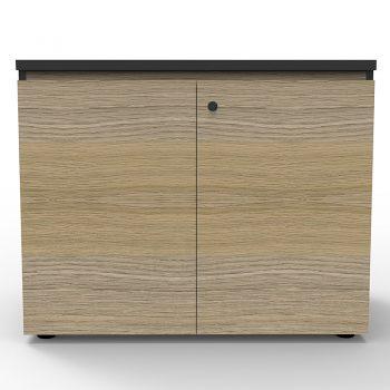 2 door wooden credenza