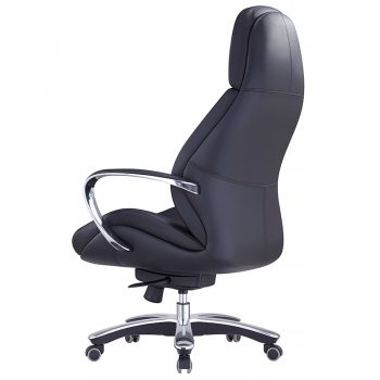 Big Boy Black Leather Chair