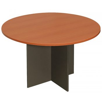 Cherry Round Meeting Table
