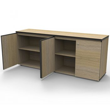 Timber Office Cupboard