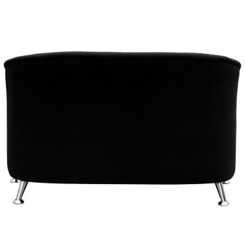 Black 2 seater lounge