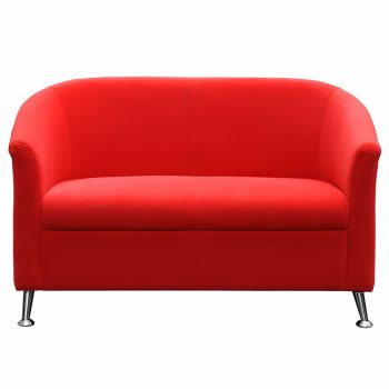 Red office lounge