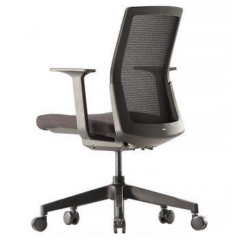 Black meeting room chair