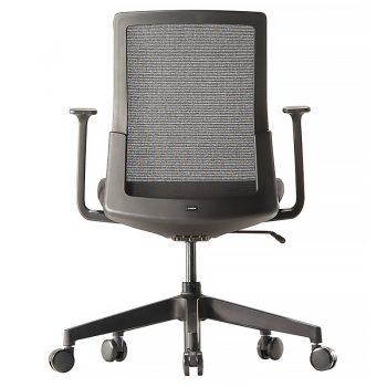 Black mesh executive chair