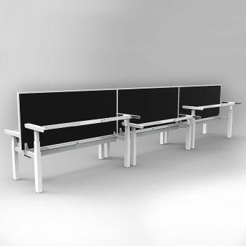 Sit stand desks, no desk top