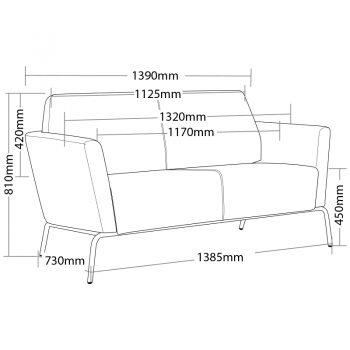 Sofa sizes