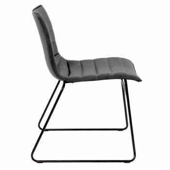 Berton Cincinnati Chair, Grey