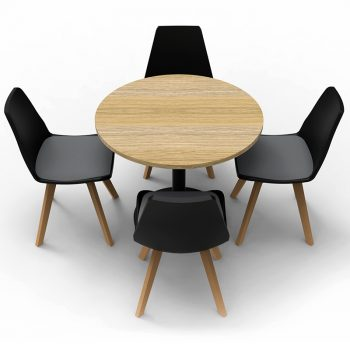 chairs and round table