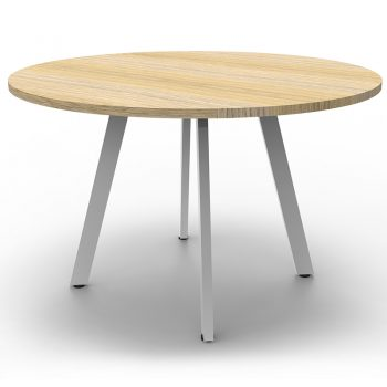 round oak meeting table