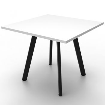 black and white meeting table
