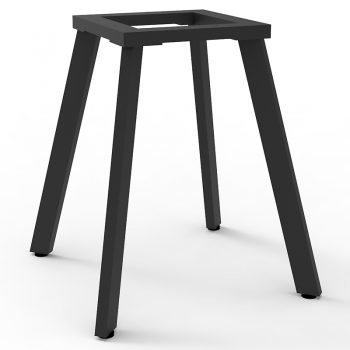 meeting table frame, black