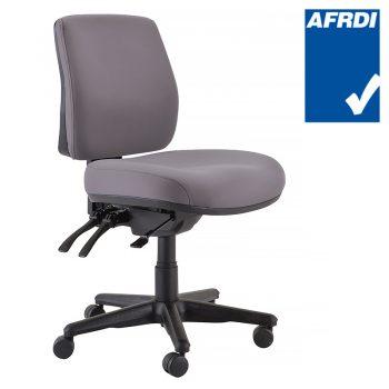 Buro Roma MB Chair, Charcoal