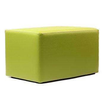 large green ottoman