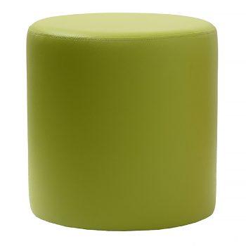 Round Green Ottoman
