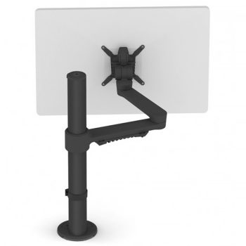 c.me single monitor arm, black