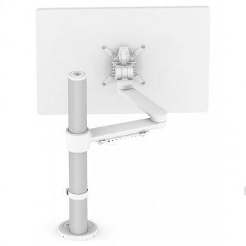 c.me single monitor arm, white